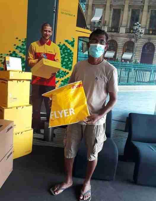 Eindelijk weer een zending dna kits vanuit Sri Lanka na maandenlange lockdown. Dank aan Andrew Silva…